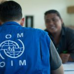 Trafficked Myanmar Fisherman is Interviewed by IOM Staff in Ambon (Credits: Ario A.P. - IOM Photo)