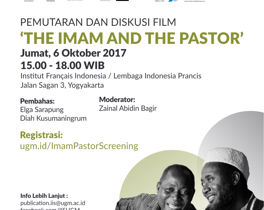 PEMUTARAN DAN DISKUSI FILM 'THE IMAM AND THE PASTOR'