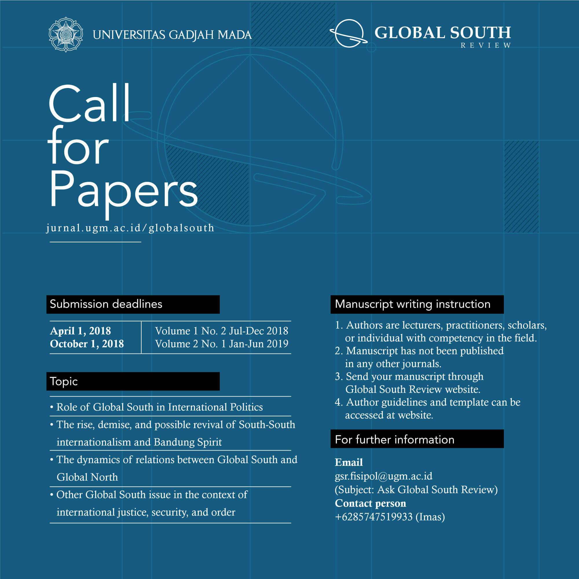 [CALL FOR PAPERS] Global South Review
