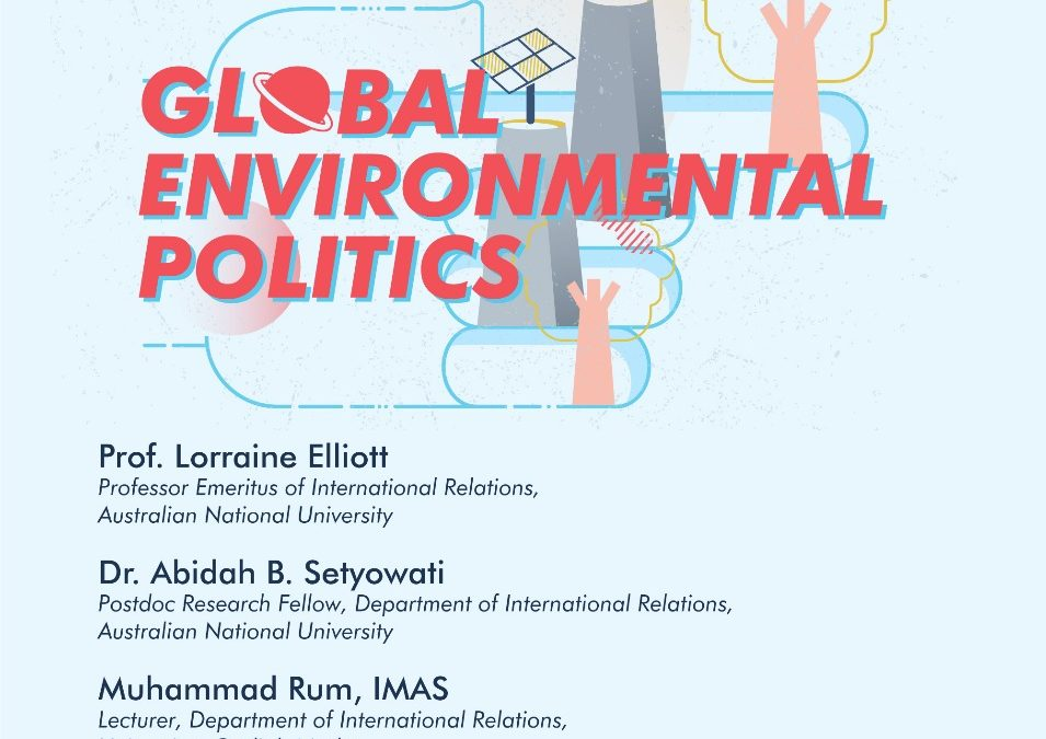 [CLIMATALK #1] Global Environmental Politics