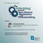 Lecture Interplay between Nonviolent Resistance and Peacebuilding IIS UGM