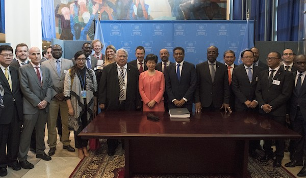 [PRESS RELEASE] Treaty Banning Nuclear Weapons Takes Another Rapid Step Towards Becoming International Law Today