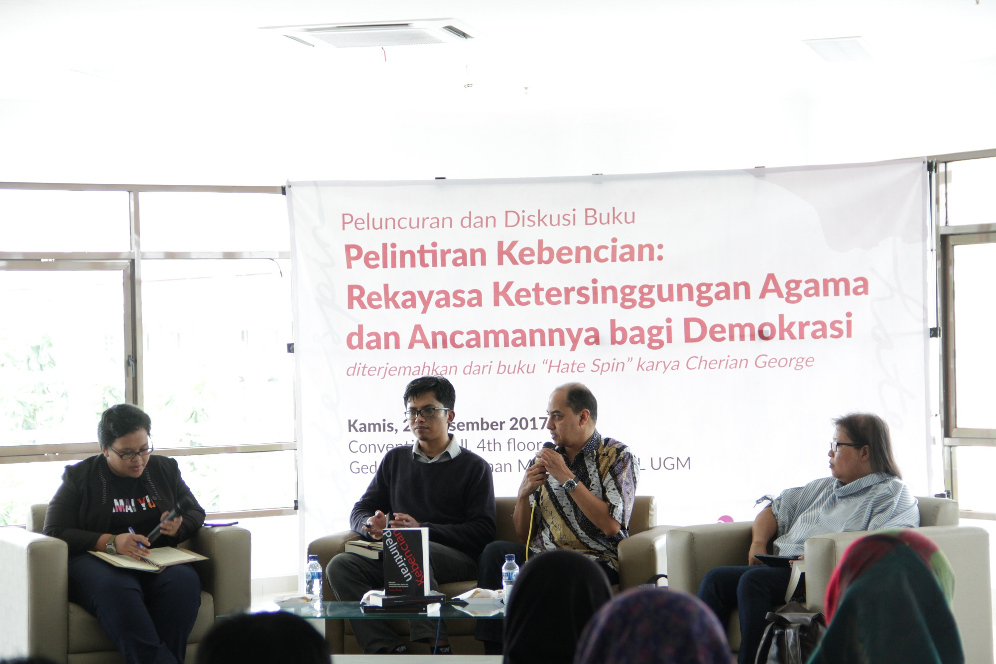 """Book Launching and Discussion, """"Pelintiran Kebencian"""": An Antidote to Religious Intolerance"""