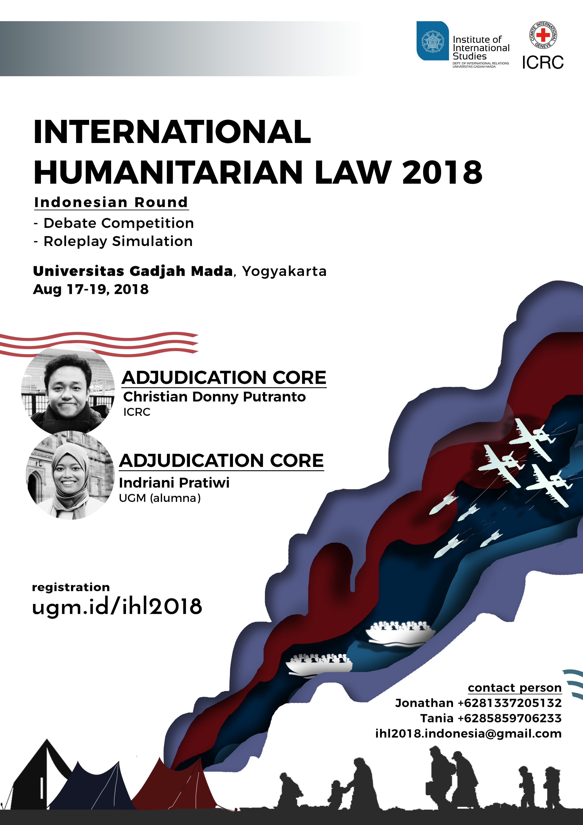 12th International Humanitarian Law Debate Competition & Roleplay Simulation