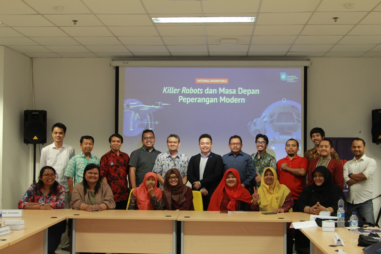National Round Table Discussion on 'Killer Robots' dan Masa Depan Peperangan Modern