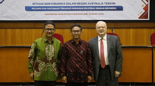 AUSTRALIA UPDATE 2019: Efforts to Intensify People to People Cooperation